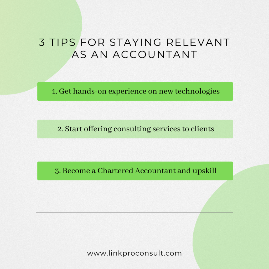 tips to stay relevant as an accountant